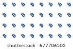bitcoin diagonal tiling pattern ... | Shutterstock . vector #677706502
