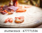 dried fruits and vegetables | Shutterstock . vector #677771536