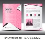 annual report brochure flyer... | Shutterstock .eps vector #677883322