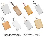 collection of  various price... | Shutterstock . vector #677946748