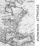 american old map   Shutterstock . vector #677965162
