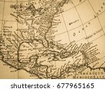 American Old Map