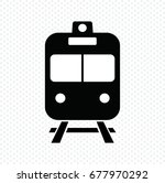 train icon vector illustration | Shutterstock .eps vector #677970292