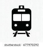 train icon vector illustration | Shutterstock .eps vector #677970292