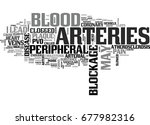 what is peripheral vascular... | Shutterstock .eps vector #677982316