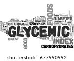 what is glycemic good gylcemic... | Shutterstock .eps vector #677990992