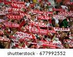warsaw  poland   june 10  2017  ...   Shutterstock . vector #677992552
