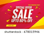sale banners template for... | Shutterstock .eps vector #678015946