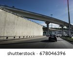 express highway interchange.... | Shutterstock . vector #678046396