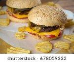 freshly made spicy...   Shutterstock . vector #678059332