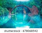 a mystical looking rakotz... | Shutterstock . vector #678068542