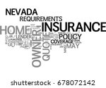 what goes into a nevada home... | Shutterstock .eps vector #678072142