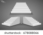 White Stairs  3d Staircases....