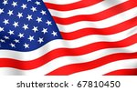 flag of usa | Shutterstock . vector #67810450