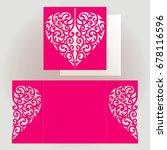 template of invitation for...   Shutterstock .eps vector #678116596