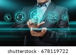 technical support customer... | Shutterstock . vector #678119722