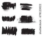 grunge background elements.... | Shutterstock . vector #678123022