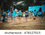 july 15  2017   discovery bay... | Shutterstock . vector #678127015