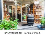 cochem  germany   july 5  2017  ...   Shutterstock . vector #678164416