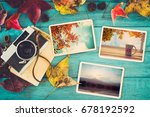 photo album in remembrance and... | Shutterstock . vector #678192592