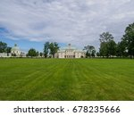 summer in oranienbaum park.... | Shutterstock . vector #678235666
