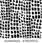 vector seamless pattern black...   Shutterstock .eps vector #678254512