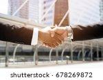 close up of a businessman hand...   Shutterstock . vector #678269872