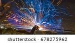 welder  craftsman  erecting... | Shutterstock . vector #678275962