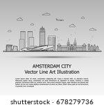 line art vector illustration of ... | Shutterstock .eps vector #678279736