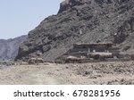 mountains   bedouin camp in... | Shutterstock . vector #678281956