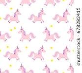 unicorn. vector illustration....   Shutterstock .eps vector #678282415