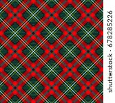 traditional english plaid ...   Shutterstock .eps vector #678285226