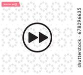 rewind  vector icon | Shutterstock .eps vector #678296635