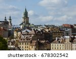 View Of The Old Town Of Lublin...