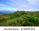 scenic cloud covered western...   Shutterstock . vector #678309202