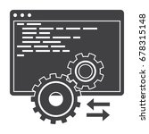 computer programming ... | Shutterstock .eps vector #678315148