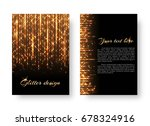glitter background with new... | Shutterstock .eps vector #678324916