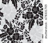 elegant seamless pattern with...   Shutterstock .eps vector #678331705