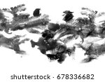 abstract ink background. marble ... | Shutterstock . vector #678336682