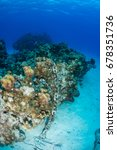 an anchor chain from a cruise... | Shutterstock . vector #678351736