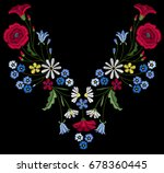 vector design for collar t... | Shutterstock .eps vector #678360445