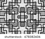 abstract background. black and... | Shutterstock . vector #678382606