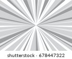 abstract radial gray zoom speed ... | Shutterstock .eps vector #678447322
