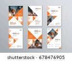 set abstract cover and  layout...   Shutterstock .eps vector #678476905