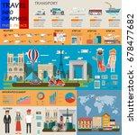 travel infographic.paris...   Shutterstock .eps vector #678477682