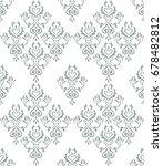 ornament floral vector pattern | Shutterstock .eps vector #678482812