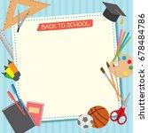 illustration vector of back to...   Shutterstock .eps vector #678484786