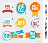 "collection of ""sale label price ... 