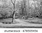 beautiful central park new york ... | Shutterstock . vector #678505456