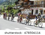 col du columbiere  france  ... | Shutterstock . vector #678506116